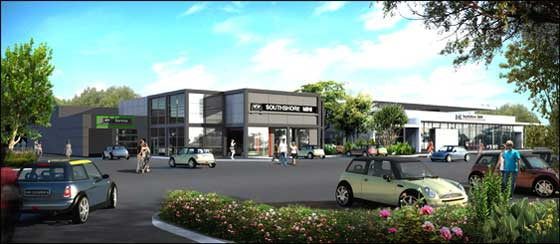 Gallery Automotive Group Llc Has Begun Construction On Bmw And Mini Dealerships At 1040 Hingham St Rockland Aw Perry